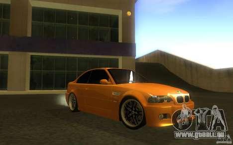 BMW M3 E46 V.I.P für GTA San Andreas Seitenansicht