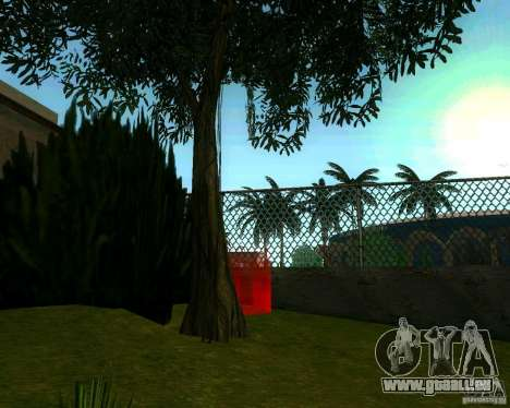 Pommier pour GTA San Andreas quatrième écran