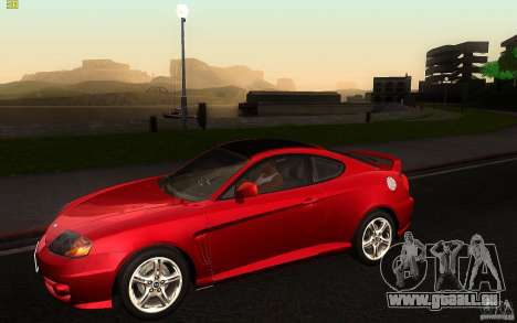 Hyundai Tiburon V6 Coupe 2003 für GTA San Andreas