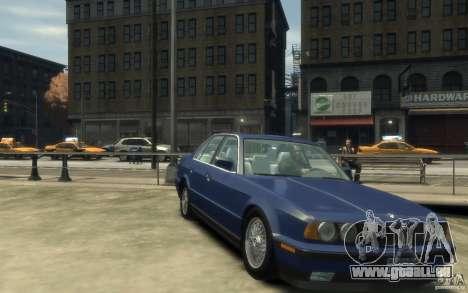 BMW 535i (E34) für GTA 4 Rückansicht