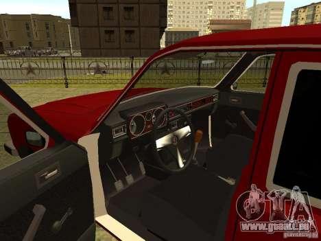 GAZ 3102 Wolga für GTA San Andreas linke Ansicht