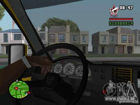 Aktives dashboard für GTA San Andreas her Screenshot