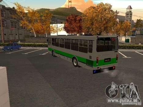 LIAZ 5256.45-01 für GTA San Andreas zurück linke Ansicht