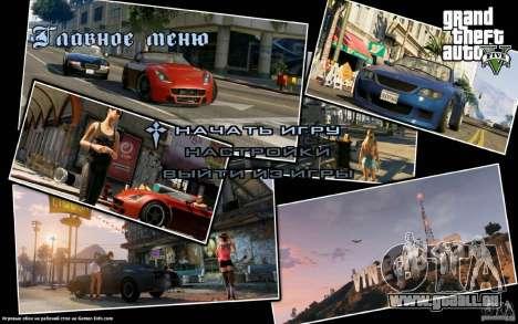 Écrans de démarrage dans le style de GTA 5 pour GTA San Andreas quatrième écran