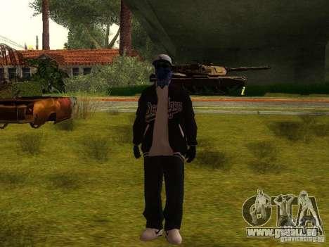 Crips pour GTA San Andreas cinquième écran
