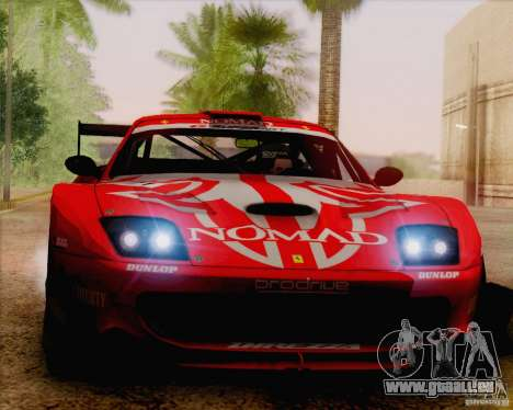 Ferrari 550 Maranello Super GT500 pour GTA San Andreas