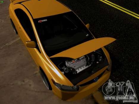 Honda Civic Si JDM pour GTA San Andreas vue de droite