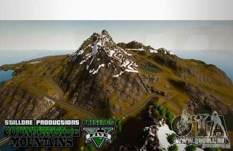 Countryside Mountains V für GTA 4