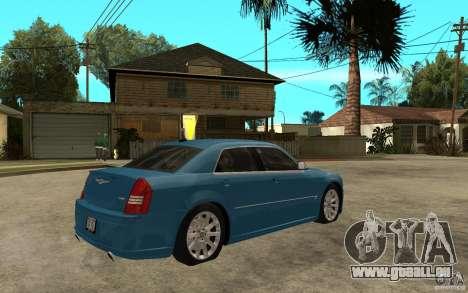 Chrysler 300C 6.1 SRT-8 2007 für GTA San Andreas rechten Ansicht