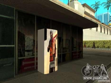 Boissons gazeuses Ray Mysterio pour GTA San Andreas deuxième écran