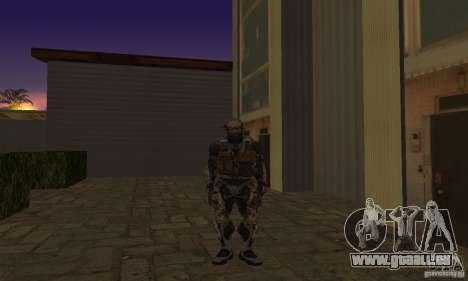 Crysis NanoSuit pour GTA San Andreas deuxième écran
