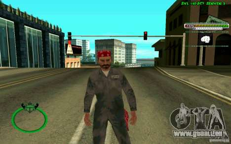 Mechanik HD Skin für GTA San Andreas