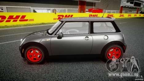 Mini Cooper S pour GTA 4 est une vue de l'intérieur