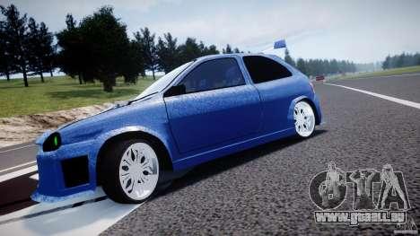 Chevrolet Corsa Extreme Revolution pour GTA 4 est une vue de l'intérieur