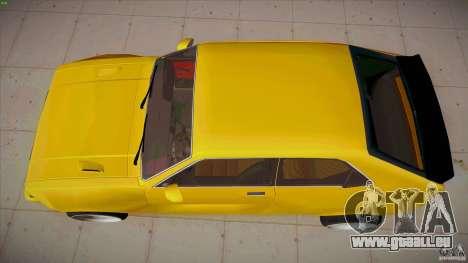 Opel Kadett D GTE Mattig Tuning für GTA San Andreas rechten Ansicht