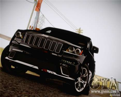 Jeep Grand Cherokee SRT-8 2012 für GTA San Andreas