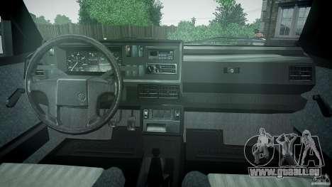 Volkswagen GOLF MK2 GTI pour GTA 4 est un droit