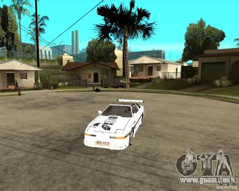 Toyota Supra MK3 Tuning pour GTA San Andreas vue intérieure