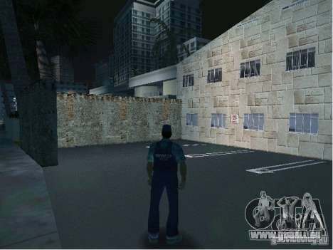 Nouveaux modèles de poste de police pour le quatrième écran GTA Vice City