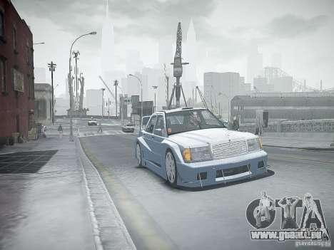 Mercedes 190E Evo2 für GTA 4 Unteransicht