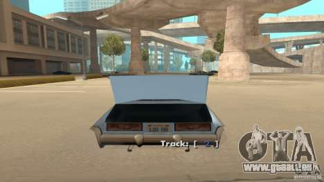 Music car v4 für GTA San Andreas dritten Screenshot