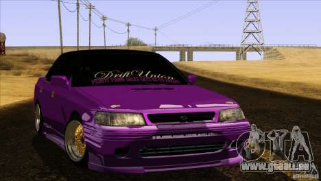 Subaru Legacy Drift Union für GTA San Andreas