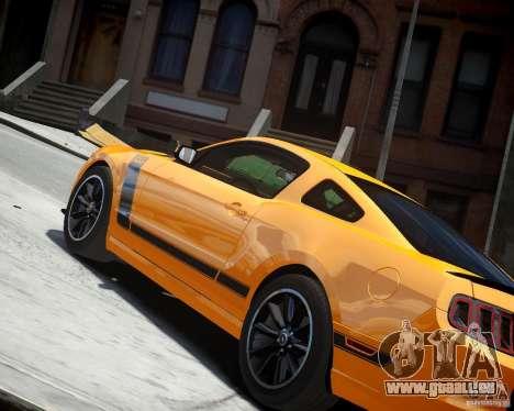 Ford Mustang Boss pour GTA 4 est un droit