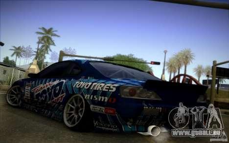 Nissa Silvia S15 Toyo für GTA San Andreas rechten Ansicht