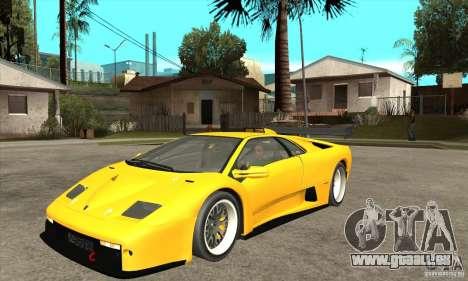 Lamborghini Diablo GT-R 1999 für GTA San Andreas
