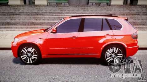 BMW X5M Chrome pour GTA 4 est un côté
