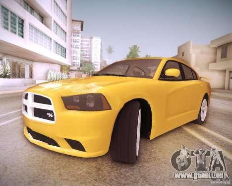 Dodge Charger 2011 v.2.0 für GTA San Andreas Innen