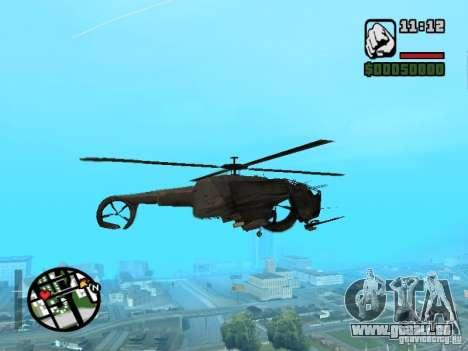HL 2 VERT v1 pour GTA San Andreas vue arrière