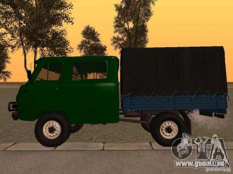 UAZ 39094 pour GTA San Andreas laissé vue