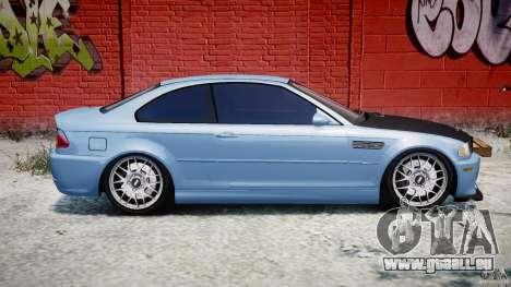 BMW M3 E46 Tuning 2001 für GTA 4 Seitenansicht