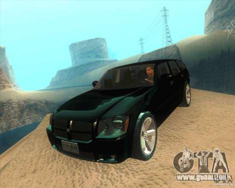 Dodge Magnum RT 2008 v.2.0 pour GTA San Andreas