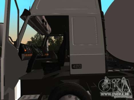 Volvo FM12 pour GTA San Andreas laissé vue