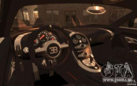 Bugatti Veyron Super Sport 2010 pour GTA 4 Vue arrière de la gauche