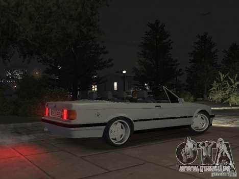 BMW 3-er E30 pour GTA 4 est une vue de l'intérieur
