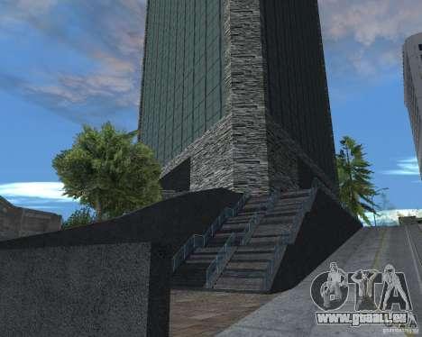 Nouvelle texture du gratte-ciel pour GTA San Andreas troisième écran