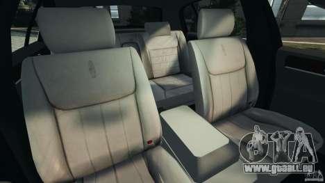 Lincoln Town Car 2006 v1.0 pour GTA 4 est une vue de l'intérieur