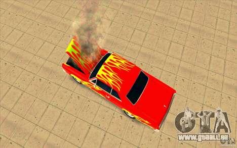 Dead car für GTA San Andreas dritten Screenshot