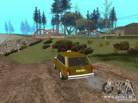 VAZ 2104 Taxi pour GTA San Andreas vue de droite