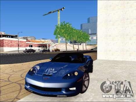 Chevrolet Corvette Grand Sport Cabrio 2010 pour GTA San Andreas