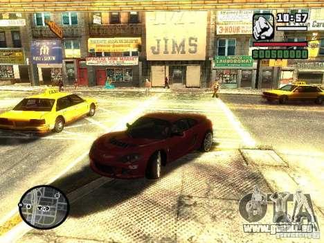 Lotus Europe S pour GTA San Andreas vue de droite