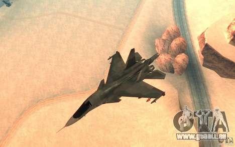 Le Su-34 pour GTA San Andreas