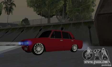 VAZ 2101 restylage pour GTA San Andreas vue de droite