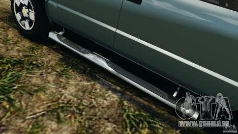 Chevrolet S-10 Colinas Cabine Dupla pour GTA 4 Salon