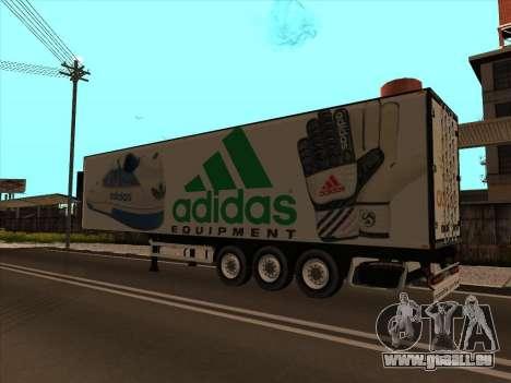 Remorque Adidas pour GTA San Andreas