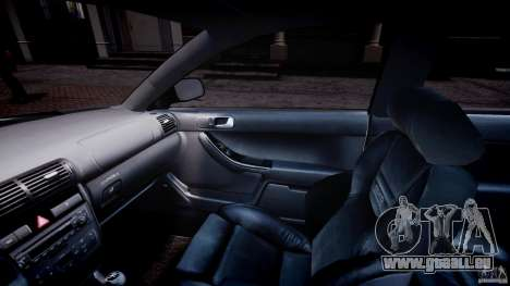 Audi A3 Tuning pour GTA 4 est une vue de l'intérieur