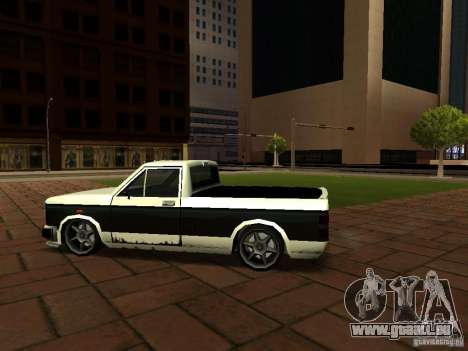 New Tuned Bobcat pour GTA San Andreas sur la vue arrière gauche